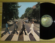 THE BEATLES, ABBEY ROAD LP 1969 UK/FRANCE VG+/EX FULLY LAMINATED/SL