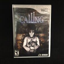 Calling  (Nintendo Wii, 2010) Brand New / Sealed /