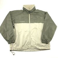 COLUMBIA Mens Size L Windbreaker Jacket
