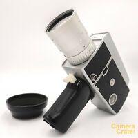 Cinemax C-801 C801 Zoom Super 8 Cine Film Camera - Fully Working #S8-2931