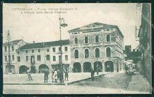 Padova Cittadella Banca Popolare PIEGHE cartolina QT1693