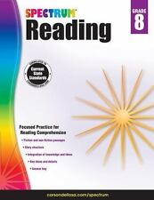 Spectrum Reading, Grade 8 (2014, Paperback, Workbook)