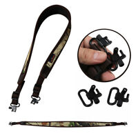Tourbon Shooting Shotgun Sling w/Quick Release QD Swivels Gun Mounted Strap Sets