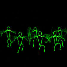 LED Neon EL Wire Tube Costumes Dance DJ Nightclub Party Stage Luminous Clothes