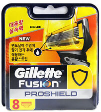 New Gillette Fusion PROSHIELD Razor Blade Refill 8 Cartridges BRAND NEW SEALED
