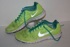 Nike Free Tri Fit 3 Breathe Running Shoes, #579968-700, Volt/Blue, Womens US 9.5
