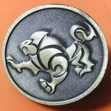"""Ib Jjf Brazilian Jiu-Jitsu Lapel Pin 1 3/8"""" Free Shipping"""