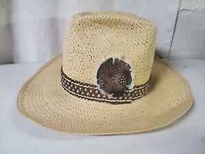 Resistol Stagecoach Self Conforming Men's Western Cowboy Straw Hat 7 1/4 NEW