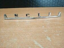 Ford Anglia bonnet badge  good chrome all pins intact