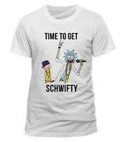 Rick And Morty 'Time To Get Schwifty' T-Shirt - NEW & OFFICIAL