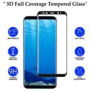 5D Anti Scratch 9H Tempered Glass Screen Protector for Samsung Galaxy S10 Plus