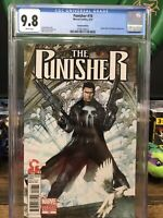 Punisher 10 Cgc 9.8 Adi Granov Variant Cover Very Rare High Grade Omega Effect