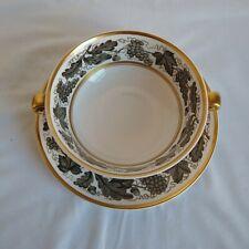 Spode Kent Vintage Reproduction Bullion & Under Plate