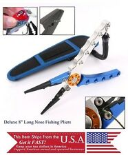 Fly Fishing Tool Split Ring Line Cutter Hook Remover Pliers Fathers day gift