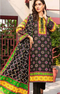 Ittehad Fall'20 Linen Series 1616A Stitched Original Suit
