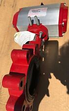 Bray Controls 930935-11300532 S/R Butterfly Valve w/ Pneumatic Actuator NEW