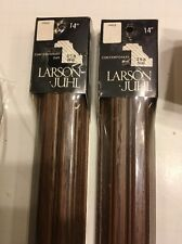 "Lot Of (2) Larson Juhl Hand Crafted Wood Frame 14"" NEW"