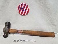 Vintage STANDARD 12oz. Machinist Ball Peen Hammer No.108 Daniel Boone USA~Made.