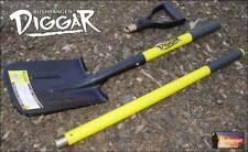 Bushranger DIGGER SHOVEL 73X40 Rubber Grips, 36mm Multi-Core Fibre Glass Handle