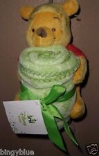 DISNEY WINNIE THE POOH PLUSH CHARACTER TOY & BLANKET NEW!
