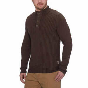 GH Bass Men's Sherpa Lined Mock Neck Sweater Size & Color VARIETY!!!