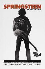 Bruce Springsteen Poster Born To Run album Promo Vintage Image