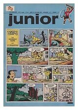 JUNIOR  1973 N°  42 18/10/1973 BE/BE+ les rois des aerostiers