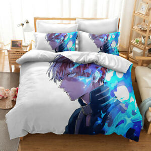 Anime My Hero Academia Single/Double/King/Queen Bed /Quilt/Duvet Cover Set