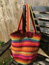 Handmade Crochet women/ladies handbag, beach tote bag,shopping bag, New