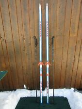 """Ready to Use Cross Country 79"""" Long TITAN 200 cm Skis +  Poles"""