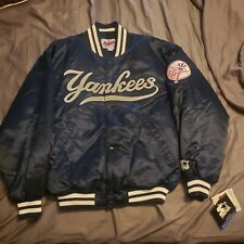 New York Yankees Starter 1998 Worlds Series Jacket, Vintage Dugout Jacket Large