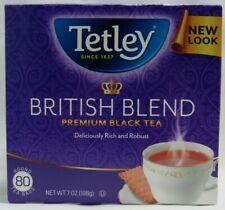 80 Tetley British Blend Premium Round Black Tea Bags