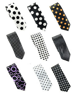 """New Fashion Mens """"Polka Dot"""" Wide 2 inches Neck ties 9 Designs"""