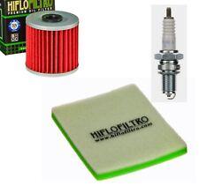 KAWASAKI KLR 250 KLR250D 84 - 92 Luftfilter Ölfilter NGK Zündkerze Wartungskit