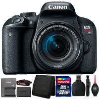 Canon EOS Rebel T7i 24.2MP Digital SLR Camera w/ 18-55mm Lens and Accessory Kit