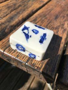 Antique Chinese Porcelain Seal Paste Box