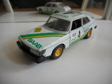 Bburago Burago Saab 900 Turbo in WHite on 1:24