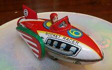 Aereo in Latta Rocket Racer Anni 60 da collezione MADE IN GIAPPONE