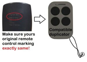 Remote control duplicator compatible with Marantec Digital 302 868.3MHz.