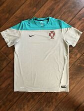 Nike Portugal Authentic Dri-Fit Men's Training Soccer Jersey Size XL
