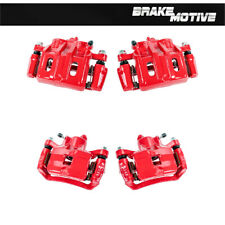 Front + Rear Red Powder Coated Brake Calipers For Eagle Talon Mitsubishi Eclipse