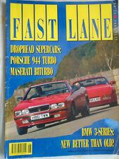 Fast Lane Jun 1991 944 Turbo, Maserati Biturbo, BMW 325