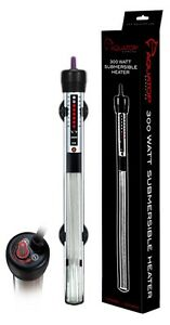 Aquatop Submersible Glass Heater 300 Watt   (Free Shipping in USA)