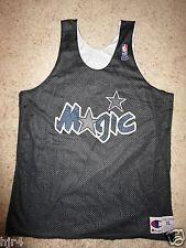 Orlando Magic 92-93 NBA Champion Reverse Practice Worn Black Jersey XL
