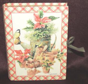 Natures Sketchbook Christmas Memory Photo Box Marjolein Bastin Hallmark