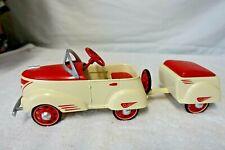 Vintage Hallmark Kiddie Car 1940 Custom Pioneer With Trailer