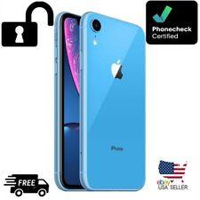 New listing Apple iPhone Xr � 128Gb �Blue📳 Unlocked (Cdma+Gsm)-A1984- Grade A-Excellent