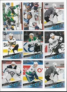 2020/21 Upper Deck Series 1 Young Guns Rookie Pick Player Card Complete Your Set