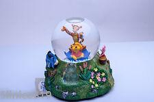 Disney Winnie the Pooh flood Musicial snowglobe