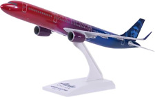 Skymarks SKR977 Alaska Airlines A321neo More To Love 1/150 Desk Model Airplane